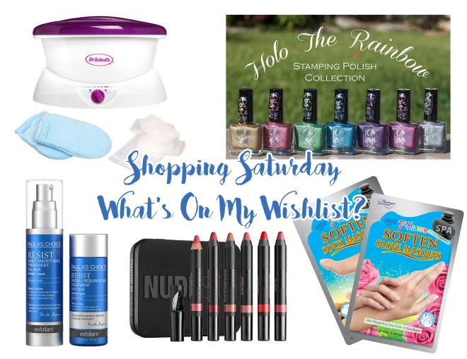 Shopping Saturday What's On My Wishlist