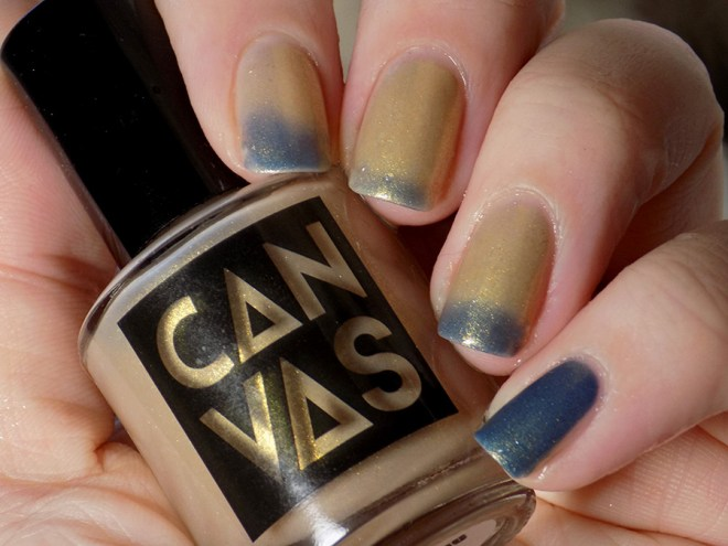 CANVAS Throwing Shade - Thermal Polish Showing Both Colours