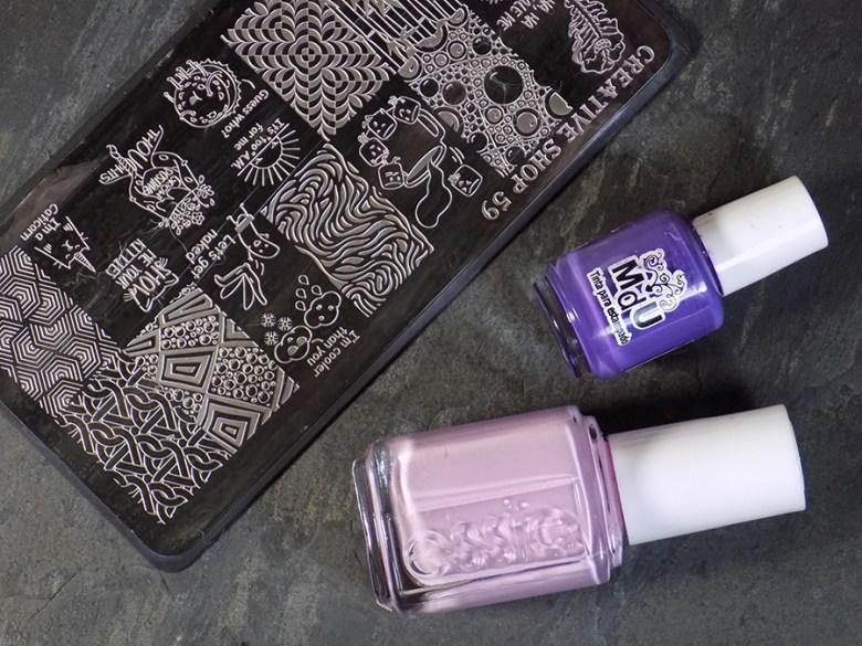 Essie Baguette Me Not - Summer 2017 - Swatch Stamped MdU Fantasy - Creative Shop 59 Supplies