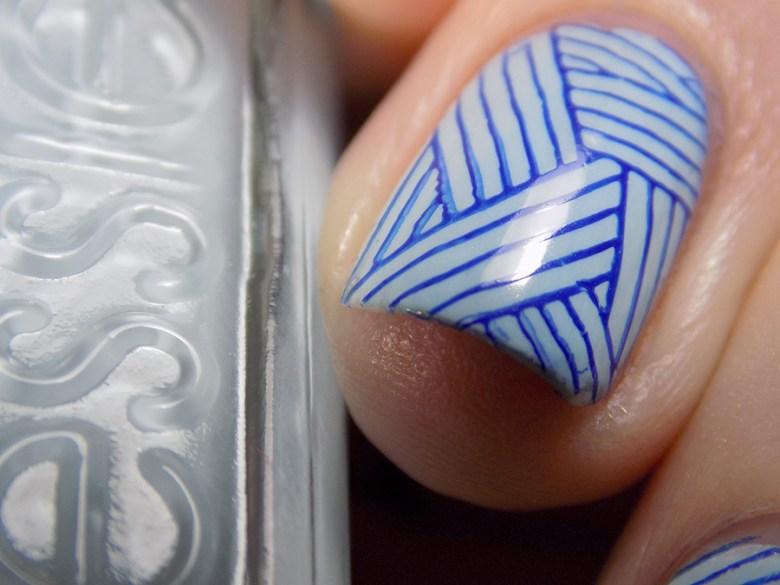 Essie Blue La La Swatches & Review - Tea & Nail Polish