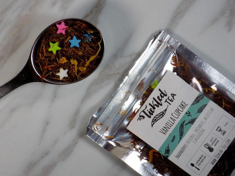 Tickled Tea Vanilla Cupcake Tea Review