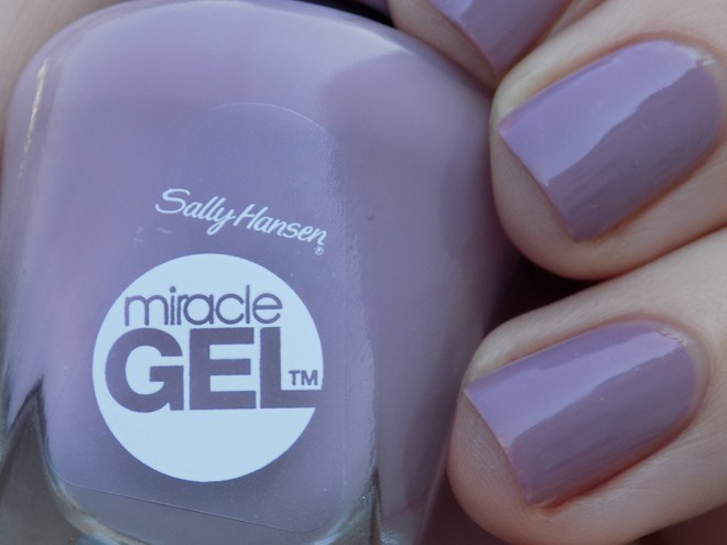 Sally Hansen Miracle Gel 559 Street Flair Swatches Full Shade Closeup