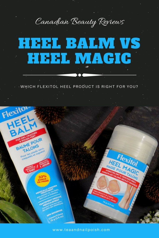 Flexitol Heel Balm vs Heel Magic - What Is The Difference and Which Do You Need? FarleyCo Foot Care - Best Foot Creams Canada