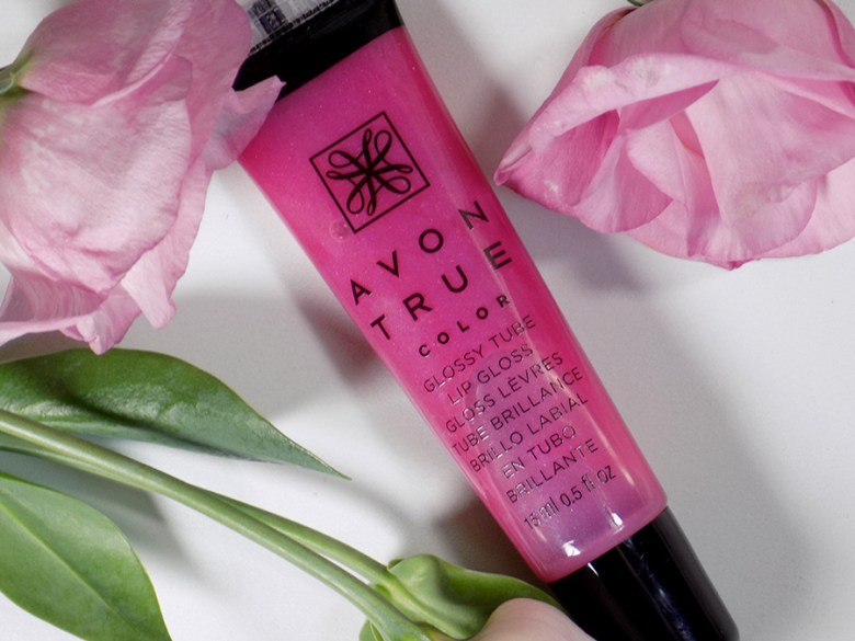 Avon A Box Fall 2017 - The Power of Pink Box Review - Avon Glossy Tube Lip Glossy in Pink Burst