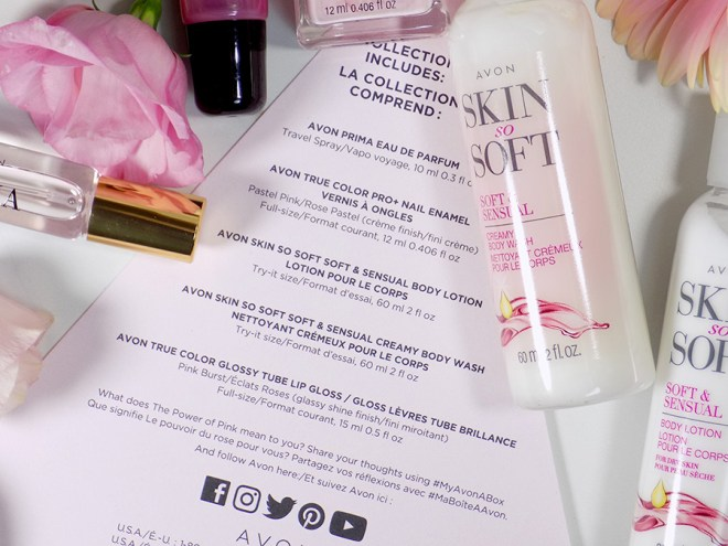 Avon A Box Fall 2017 - The Power of Pink Box Review - Product Card