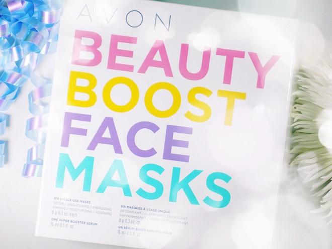 Avon Beauty Boost Face Mask Gift Set