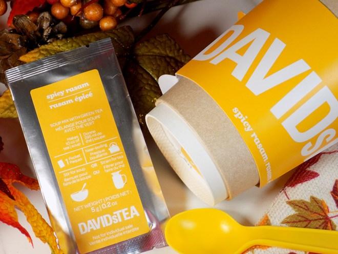 DAVIDsTEA Spicy Rasam Soup Tea Review - To Go Cup