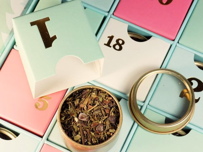 DIY Tea Advent Calendars Canada - Where To Buy Tea Samples Canada