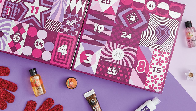 The Body Shop Advent Calendar: The Body Shop 2017 Beauty Advent Calendar - 24 Days of Beauty Basic Calendar