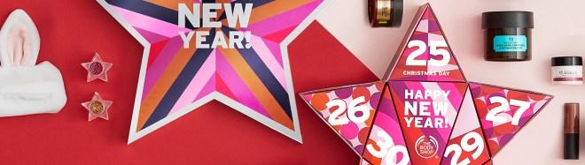 The Body Shop New Year Countdown Advent Calendar 2017