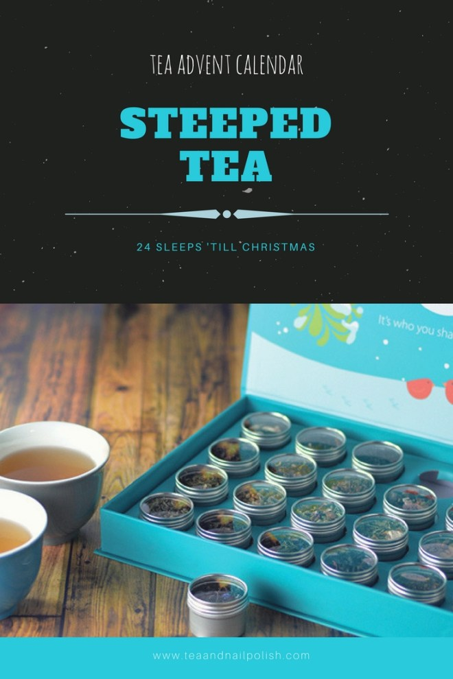 steeped tea 24 sleeps til christmas tea advent calendar