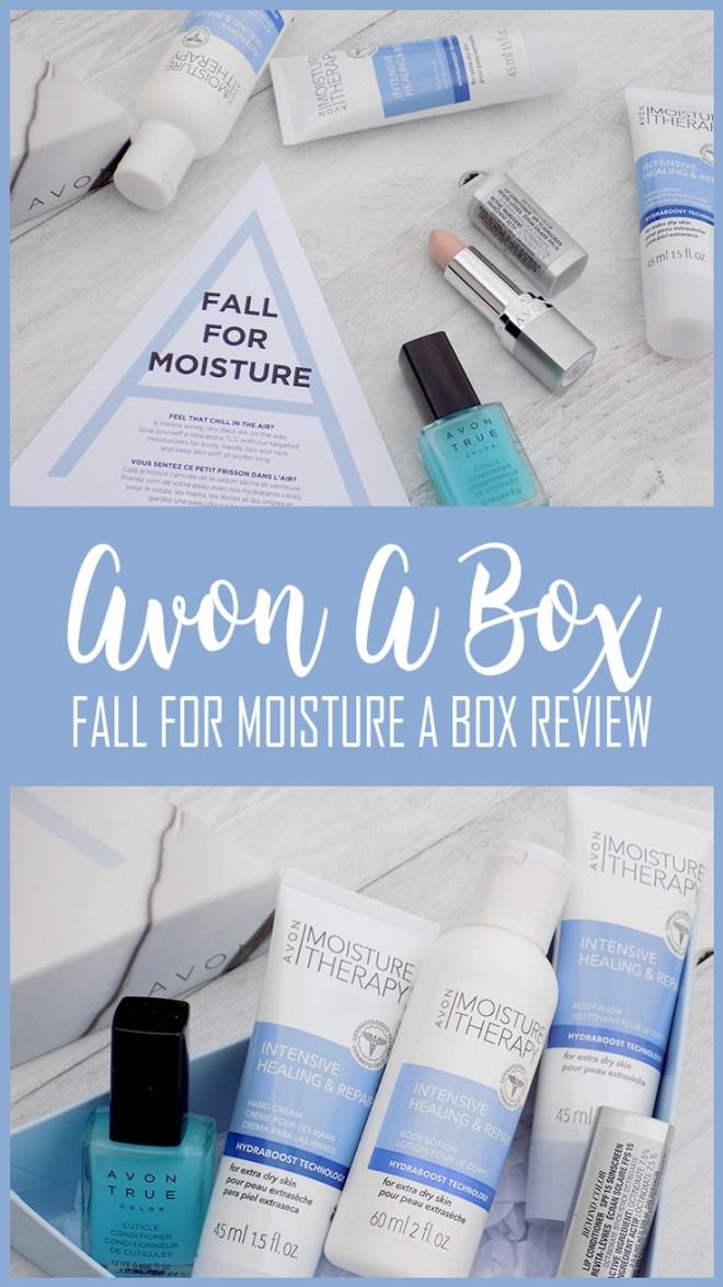 Avon Fall For Moisture A Box Review - Winter Skincare Survival Kit 2017