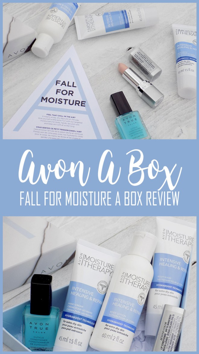 Avon Fall For Moisture A Box Review - Winter Skincare Survival Kit 2017