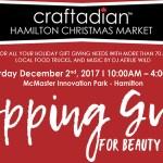 Craftadian Hamilton Christmas Market Shopping Guide 2017