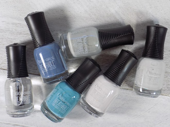 Quo by Orly Breathable 12 Days of Colorful Healthy Nails Spoilers - Blue and Grey Polishes