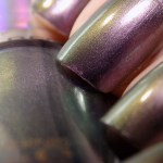 Revlon Amethyst Smoke Swatches & Review (HoloChromes Collection)