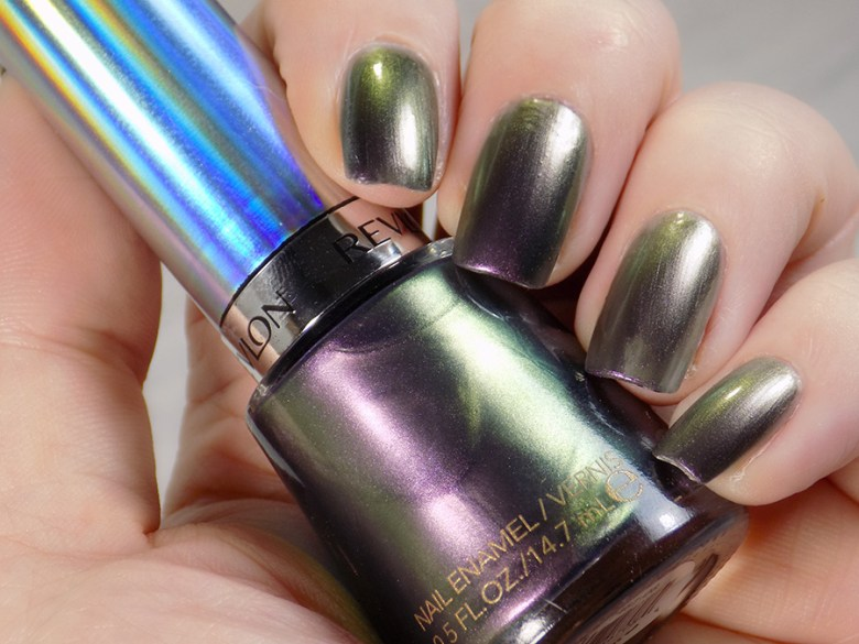 Revlon Amethyst Smoke Duochrome Swatches and Review - Holochromes Collection - Swatches