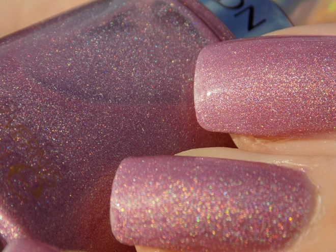 Revlon Galactic Pink Holographic Swatches And Review