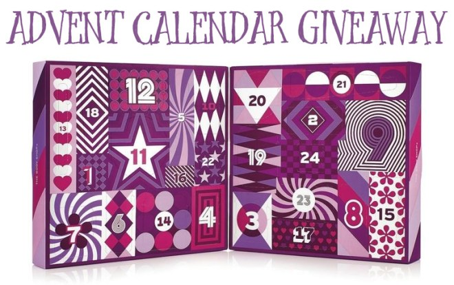 the body shop advent calendar giveaway