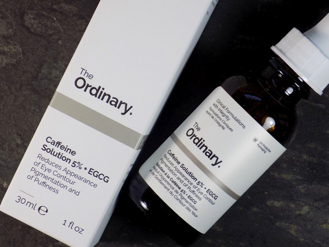 Deciem The Ordinary Caffeine Solution 5% EGCG Review