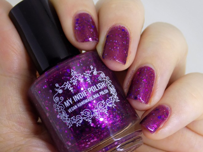 My Indie Polish Haunter Swatches and Review