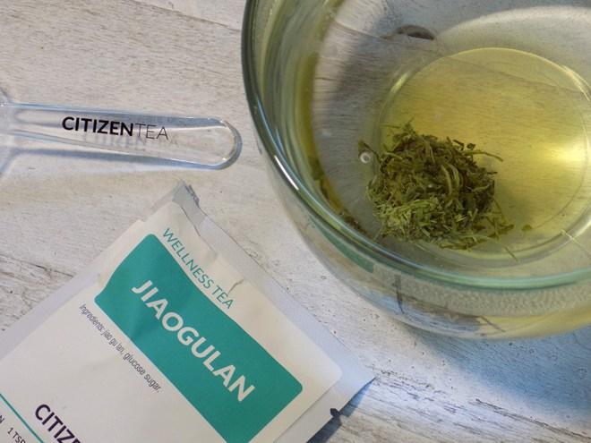 Citizen Tea Jiaogulan Tea Review - 3 minute steep