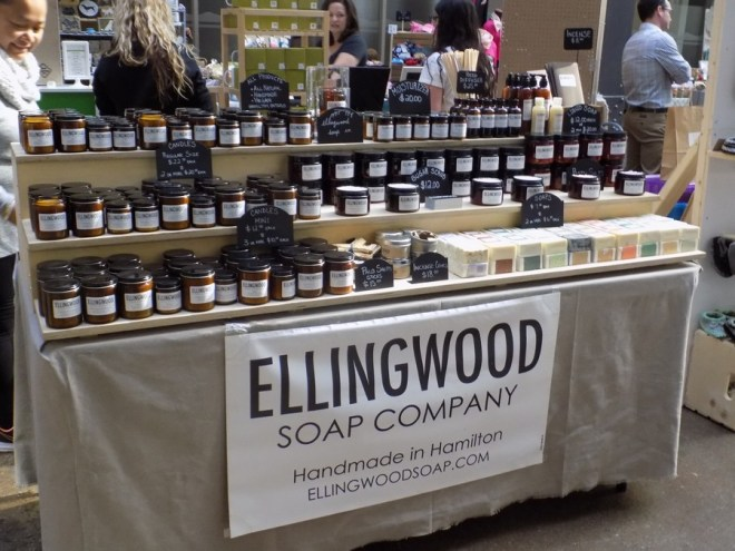 Ellingwood Soap Co at Craftadian