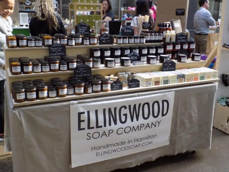 Ellingwood Soap Co at Craftadian