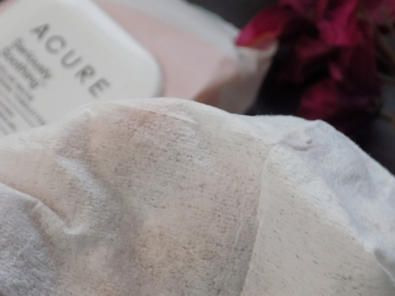 Acure Seriously Soothing Micellar Water Cleansing Wipes / Towelettes Review