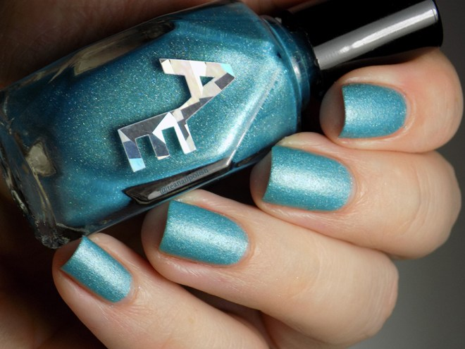Alter Ego Fan Faves Spring Rain - Swatch with Matte Top Coat