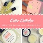 Cuter Cuticles IEC2018 Shopping Guide