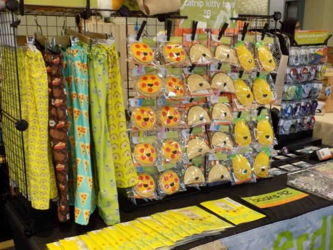 Nerdbiskit at Craftadian - Bright Booths at Craft Shows