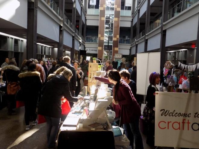 Shopper types at craft markets