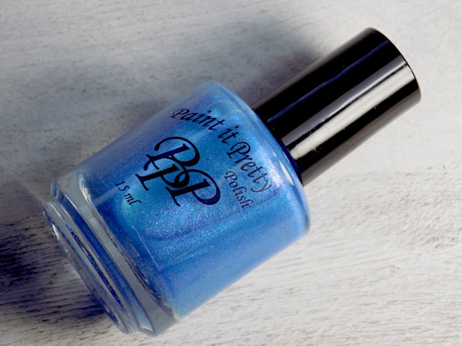 Paint It Pretty Polish Blue Me Away at IEC - IEC Exclusive - Bottle Shot