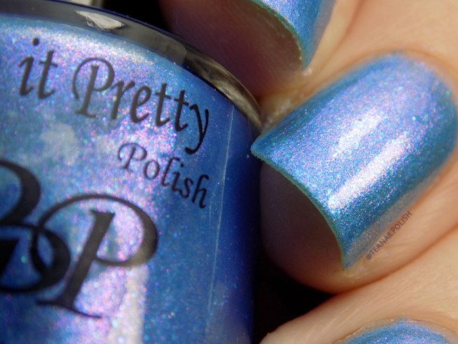Paint It Pretty Polish Blue Me Away at IEC - IEC Exclusive