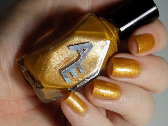 Alter Ego - Forever In Amber - Swatch in Artificial Light