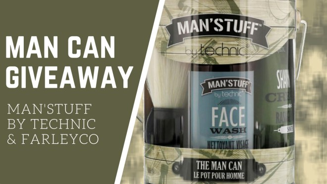 FarleyCo ManStuff Man Can Giveaway - Header