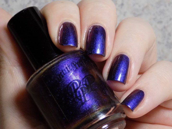 Paint it Pretty Polish - Purple Royale - Swatches 1