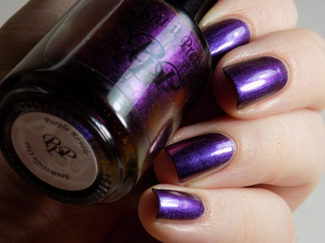 Paint it Pretty Polish - Purple Royale - Swatches and Review 2