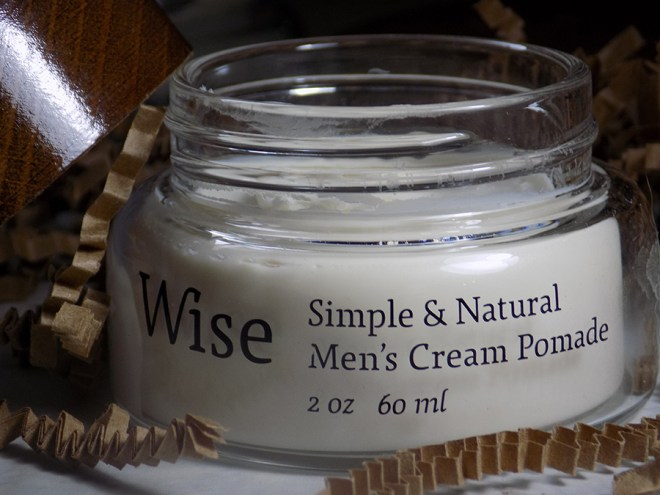 Wise Simple and Natural Mens Cream Pomade Review