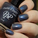 Paint It Pretty Force Field Swatches - Sunlight - 2 coats ring finger