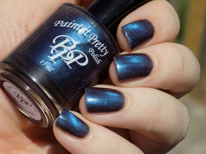 Paint It Pretty Polish - I Dont See The Attraction - Swatch in Sunlight