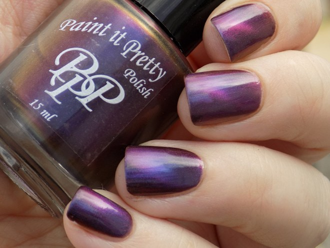 Paint it Pretty Polish Magnetic Moment - Swatch - Shade