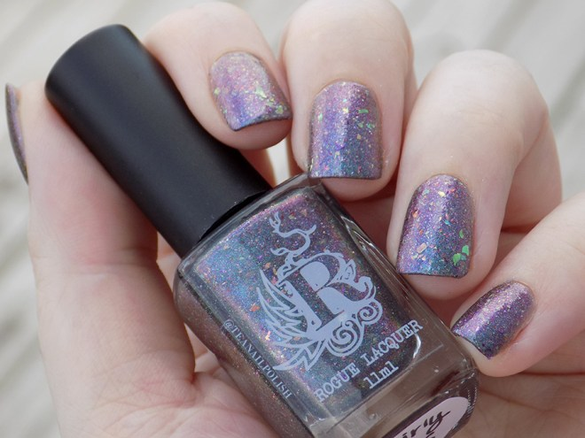 Rogue Lacquer Girly Bits Swatches - Shade