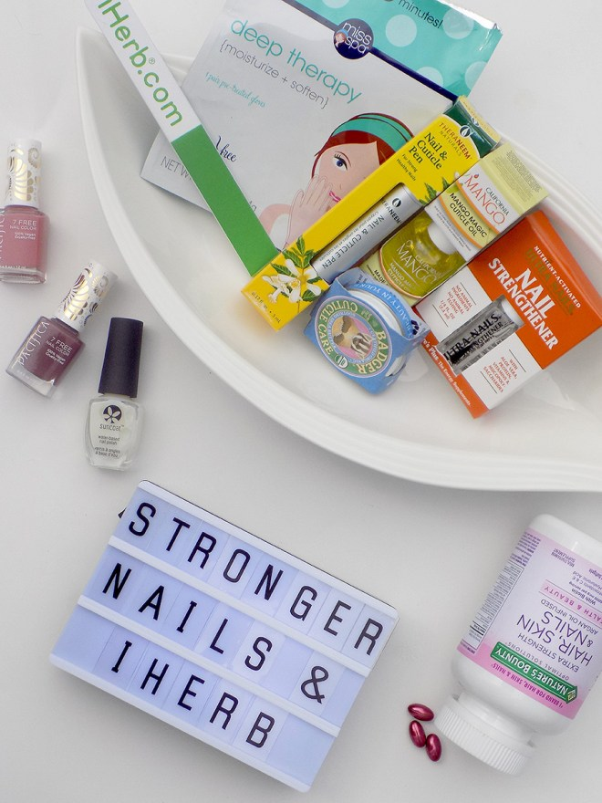 Stronger Nails with iHerb Canada - Insta Story