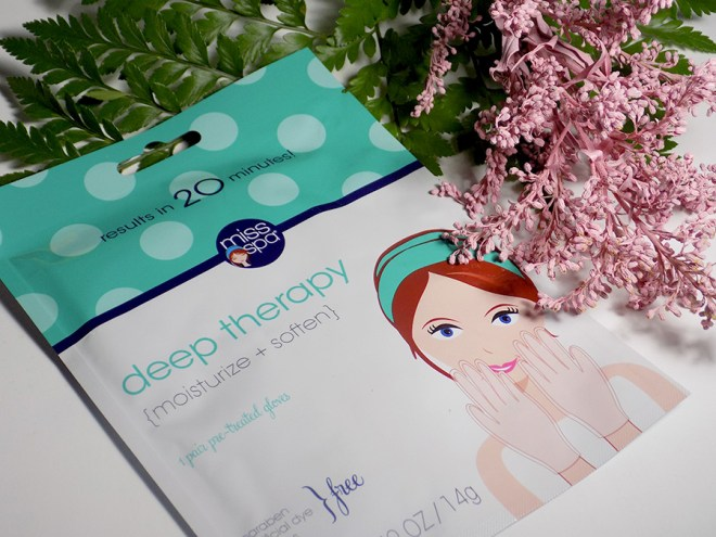 Stronger Nails with iHerb Canada - Miss Spa Deep Therapy Glove Mask Review