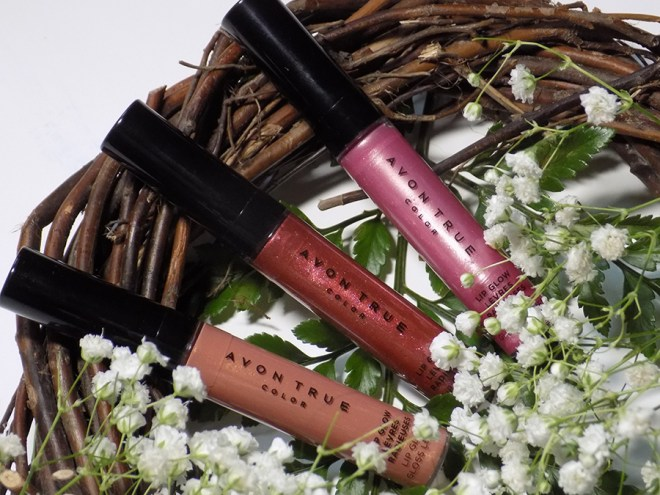 Avon True Color Lip Glow Reviews: Amber, Aura & Lightburst