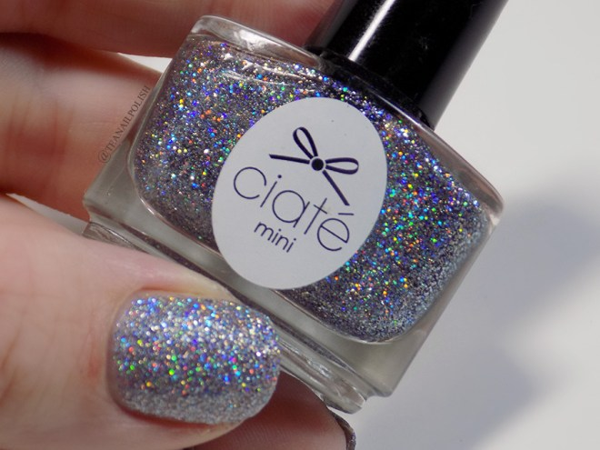 Ciate Star Struck Nail Polish Swatches - Review