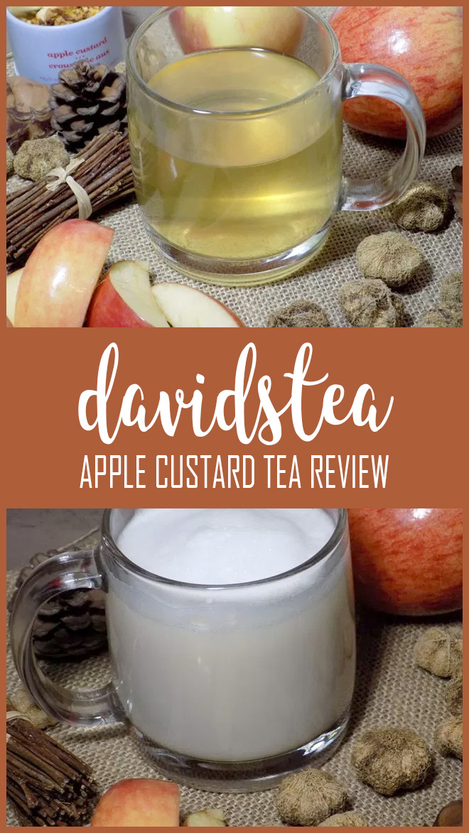 DAVIDsTEA Apple Custard Tea Review PIN
