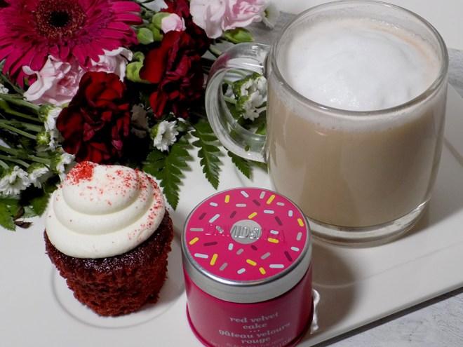 DAVIDsTEA Red Velvet Cake Latte Review and Instructions